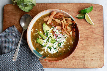Easy Weeknight Dinner: Chicken Tortilla Soup