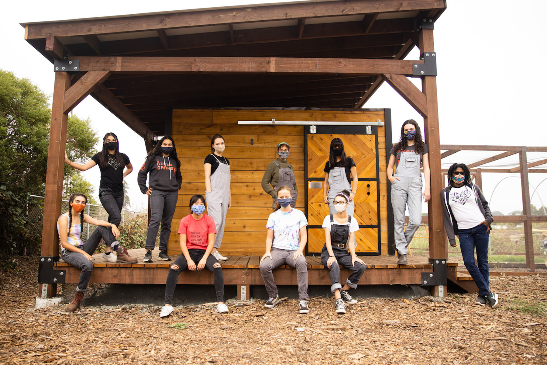 Can a chicken coop be an act of community solidarity? This team of teenage female builders certainly thinks so.