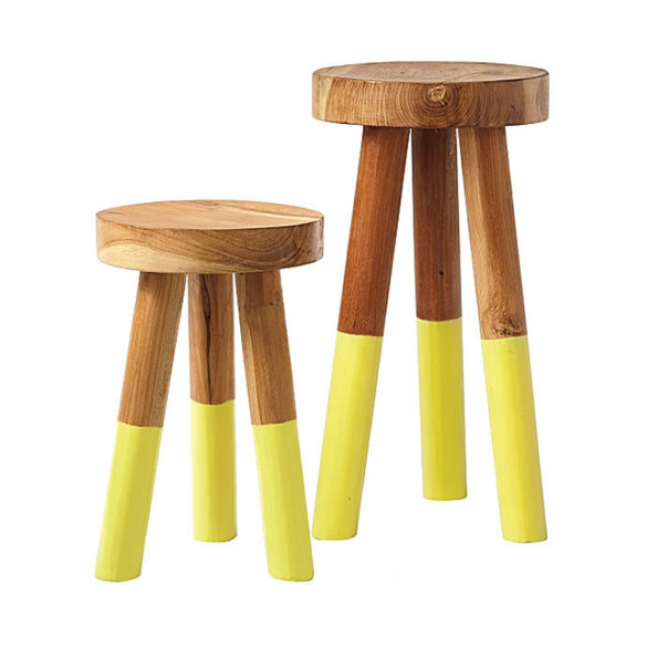 Dip Dyed Stools By Serena Amp Lily Adult Friendly Kids