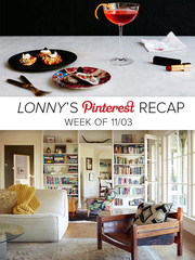 Lonny's Top Pins of the Week: The Entertaining Issue