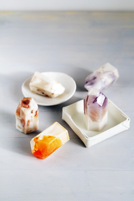 DIY To Try: Semi-Precious Stone Soaps