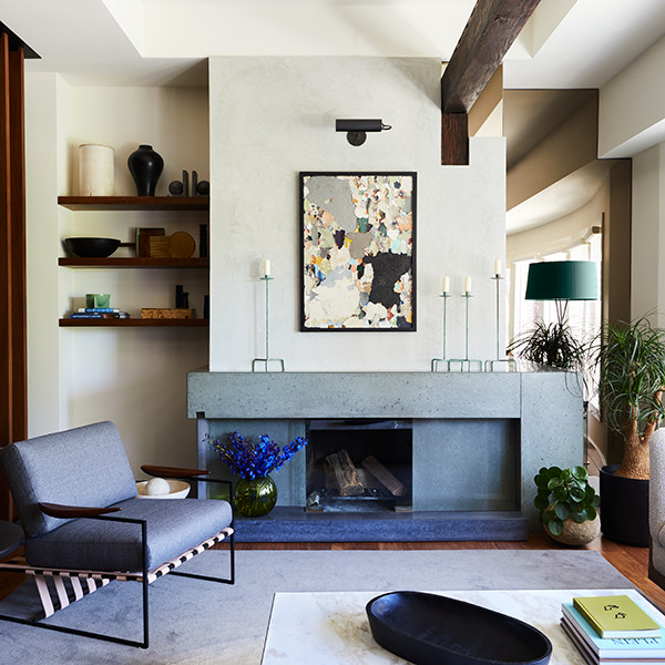 This Modern Masculine S.F. Reno Has An Eclectic Edge