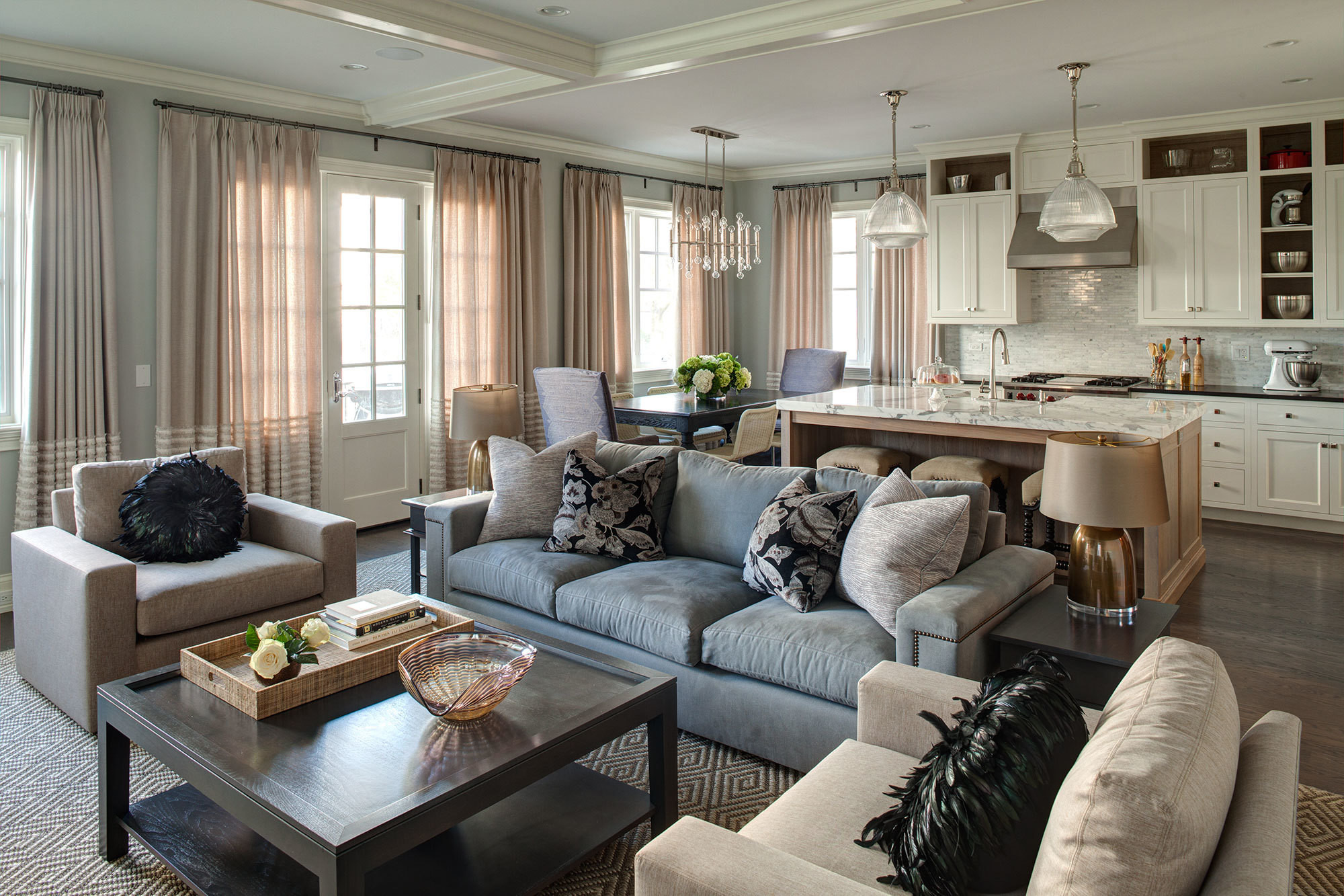 all in the family home tour lg interiors u0027 fresh take on trad in