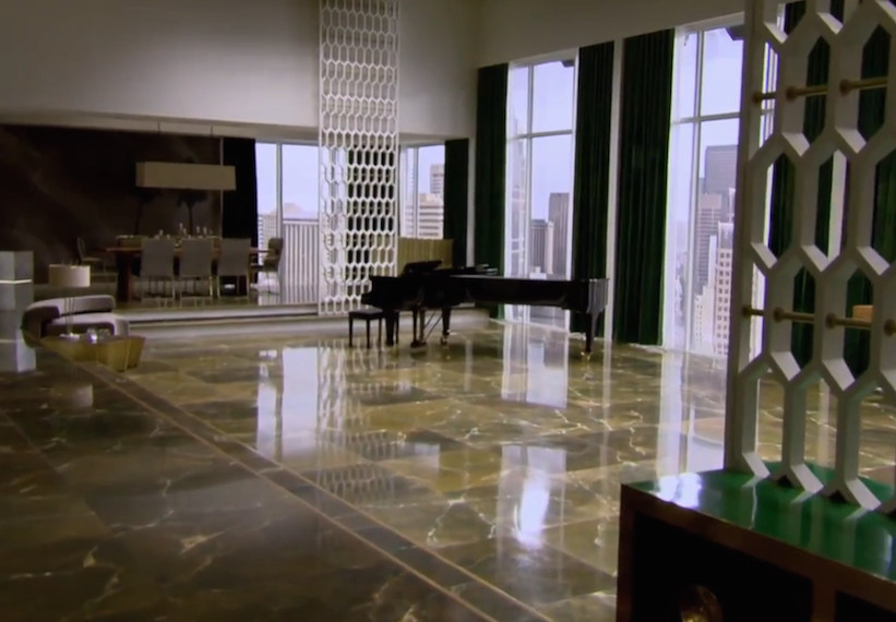 The Great Room Inside Christian Grey 39 S Apartment From 50