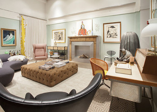 Decorating with Pastels at Sotheby's Designer Showhouse