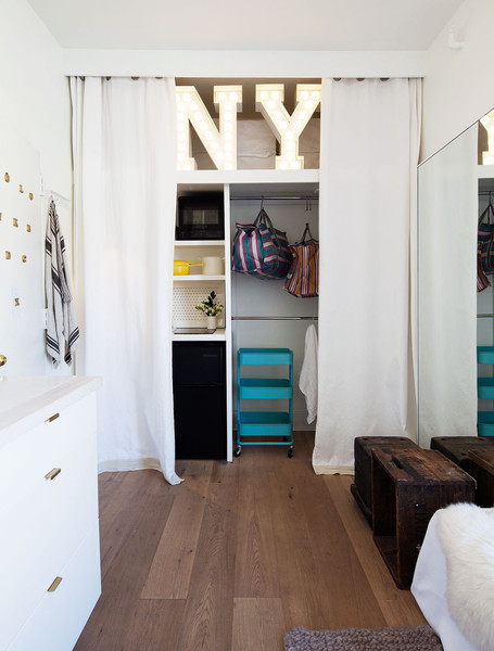 15 Small-Space Tricks from Studio Apartment Dwellers