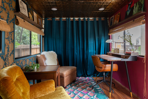 How A Vintage RV Transformed Into A 1960s Time Capsule