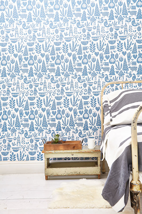 Two New Removable Wallpaper Collections for the Fickle Decorator
