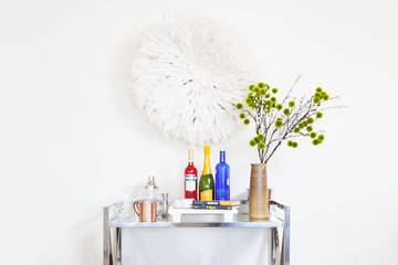 6 Must-Know Tips For Styling A Bar Cart