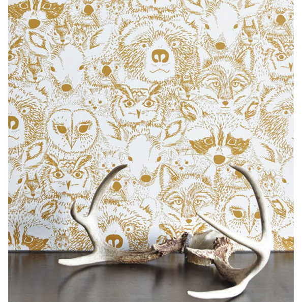 Wild Wallpaper by Sarah Watson for Chasing Paper