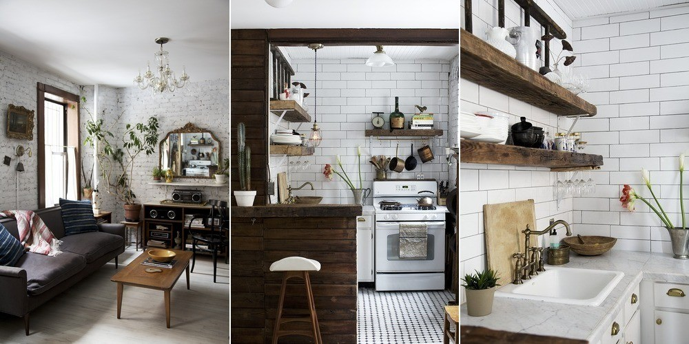 A Small Space Makeover In Downtown Manhattan Home Tours 2014 Lonny