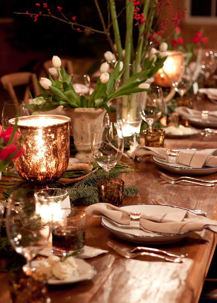 Get The Look A Woodland Inspired Christmas Table