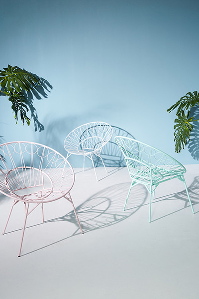 Phenomenal Anthropologies First Ever Outdoor Line Is Summer Goals Lonny Ibusinesslaw Wood Chair Design Ideas Ibusinesslaworg