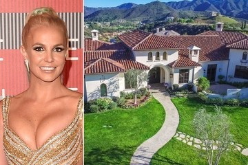 Britney Spears Is Selling Her $9 Million Dollar Home for a 21-Acre Estate
