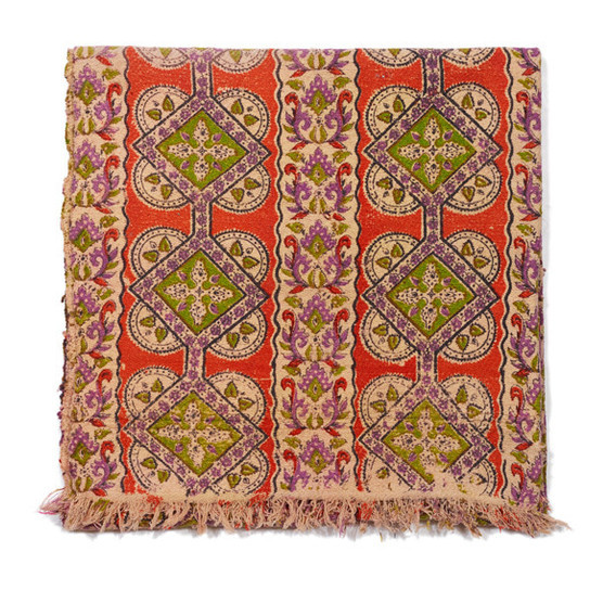 Small Printed Blanket from Aunti Oti: $78; Lizzie Fortunato.