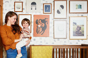 A Mid-Century Nursery Design With Art And Vintage Details