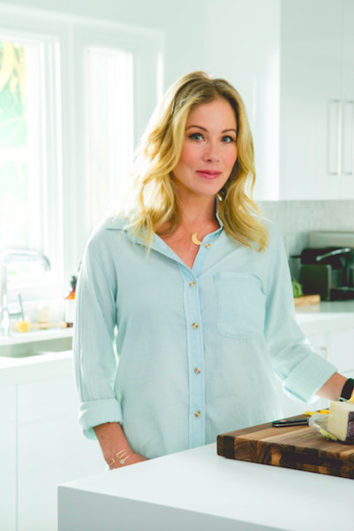 Before + After: Christina Applegate's Kitchen Makeover