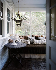 An Unlikely Hideaway: The Winter Porch