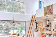 This Collector's Home Is A Technicolor Treehouse