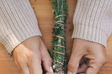 DIY To Try: Lavender Smudge Bundles