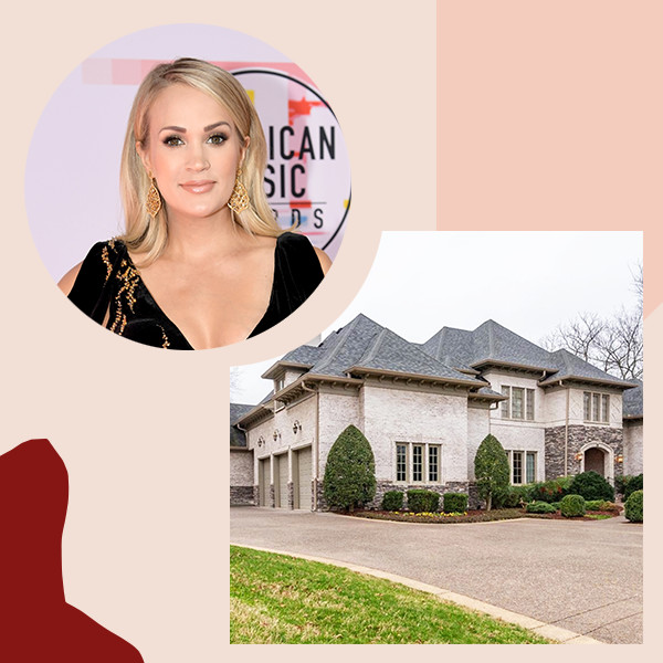 Carrie Underwood Lists Nashville Mansion For $1.45 Million