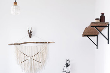 DIY To Try: Effortlessly Chic Wall Hanging