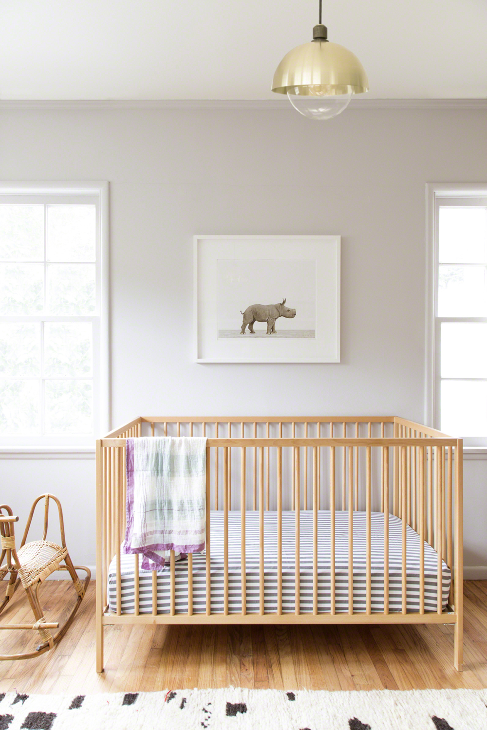 Awesome Sharon Montrose Nursery | Lonny.com