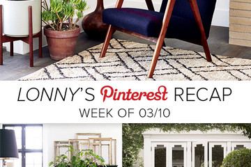 Lonny's Top Pins of The Week: Potted Plants