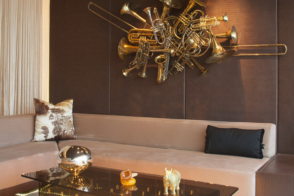 Decorating with Musical Instruments