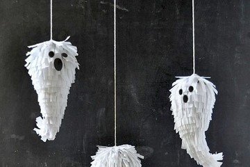 DIY Paper Halloween Decorations