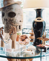 The Age-Old Appeal of Decorating with Skulls