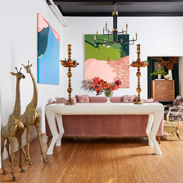 This S.F. Interior Design Office Is A Luxe Haven