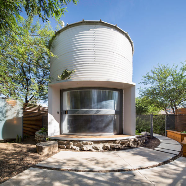 How One Couple Turned A Grain Silo Into A Home