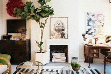 Anna Burke's Cheery Apartment in the West Village