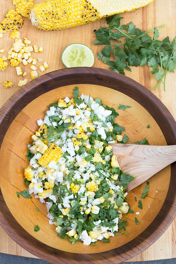 Cool Summer Salad: Grilled Mexican Street Corn
