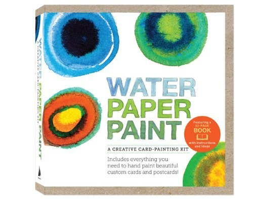 Water Paper Paint: A Creative Card-Painting Kit by Heather Smith Jones (Quarry Books)