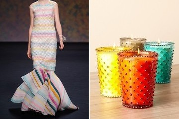 Christian Dior Couture vs. Hobnail Glass Candles