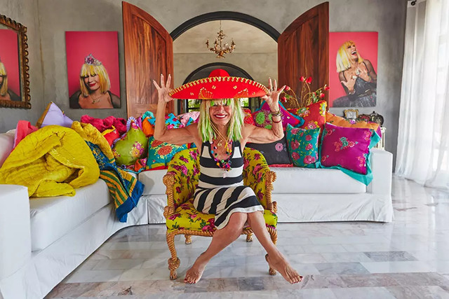 Betsey Johnson's Amazing Acapulco Villa Is On Airbnb