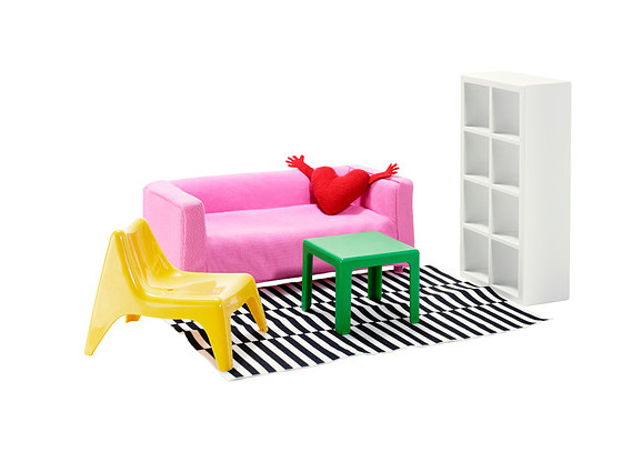 Huset Doll Furniture by Ikea