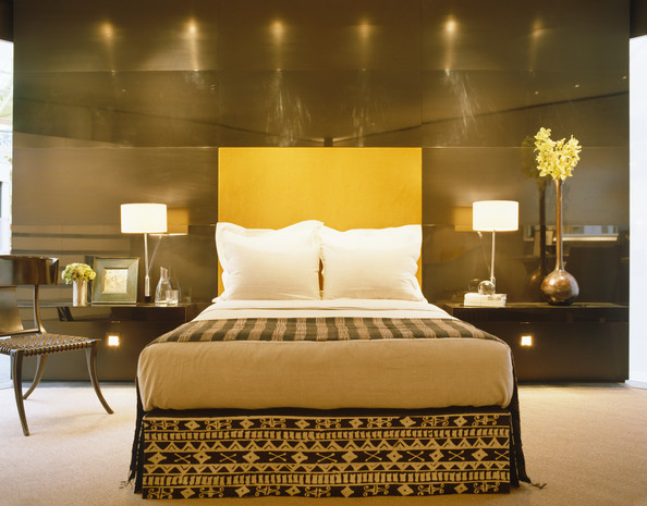 Yellow contemporary modern bedroom cool bedroom ideas for Cool modern bedrooms