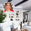 Brittany Snow's Living Room