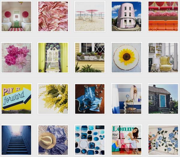 Every Photo from Our Month of Color on Instagram