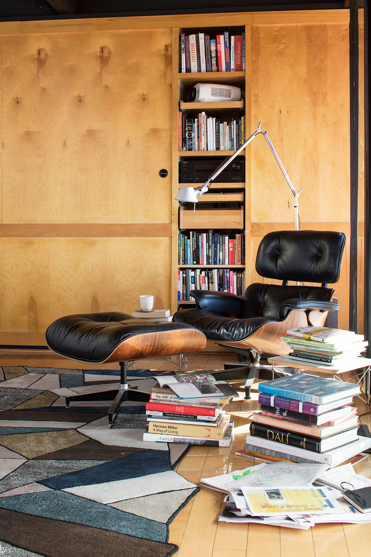 """I think of modernism as the closest we ever came to incorporating these ideas of perfection and utopia into design and living,"" explains the textile designer. Liesel Plambeck for Mehraban Rug 