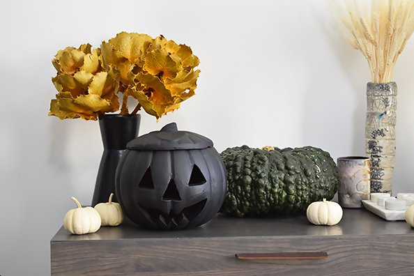 How A Designer Actually Decorates For Halloween