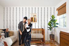Peek Inside Evan & Ashlee Simpson Ross's Charming Nursery With A Rock 'N Roll Edge