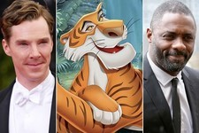 Rumble in 'The Jungle Book': Benedict Cumberbatch vs. Idris Elba