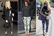 Try This Look: Pretty Patterned Pants