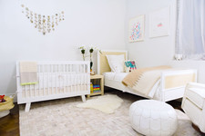 A Neutral City Nursery by Serena & Lily