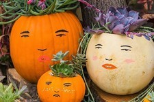 DIY To Try: Personality-Packed Pumpkin Family