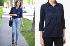 Found: Louise Roe's Denim Shirt
